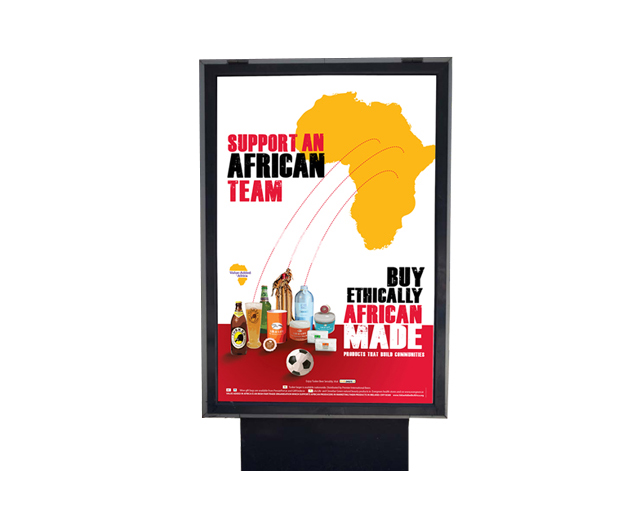 Value Added in Africa poster by Mel Gardner