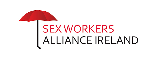 Sex Workers Alliance Ireland logo by Mel Gardner