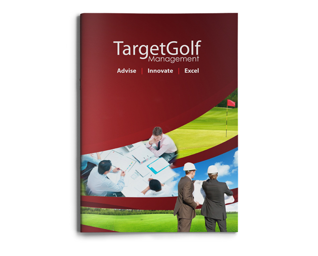 Target Golf Brochure by Mel Gardner