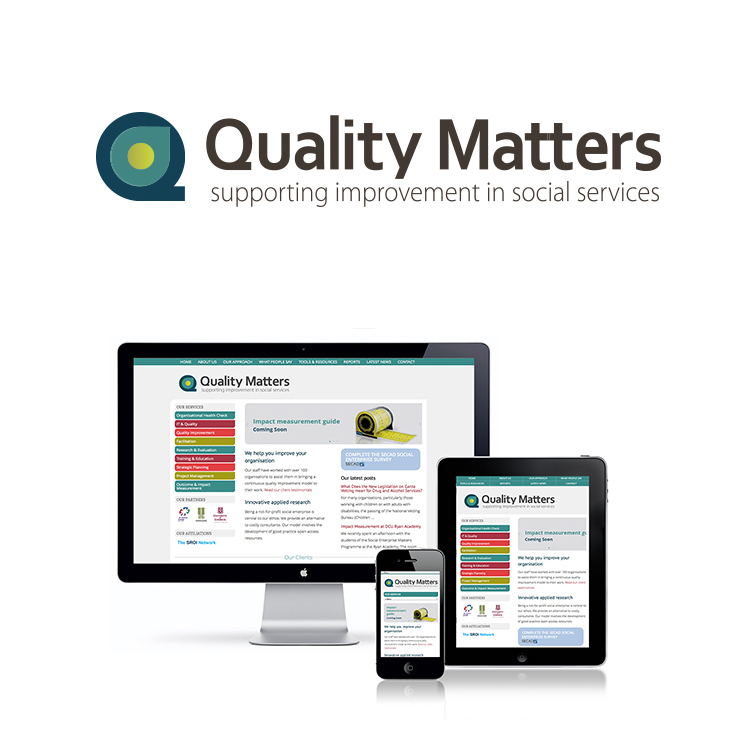 Quality Matters branding