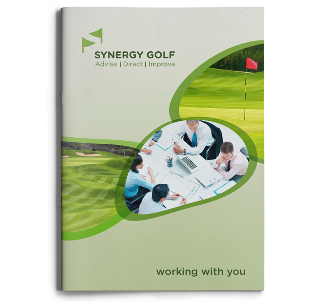 Synergy Golf brochure by Mel Gardner