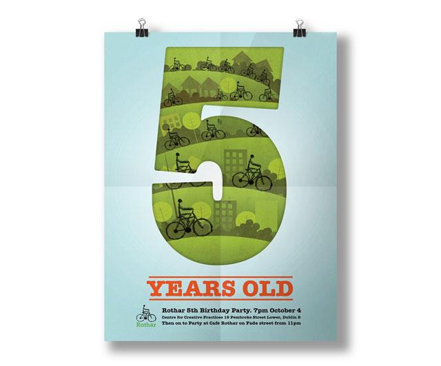 Rothar birthday poster