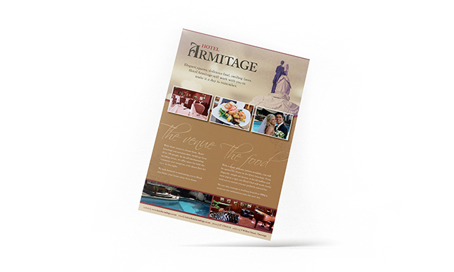Hotel Brochure by Mel Gardner
